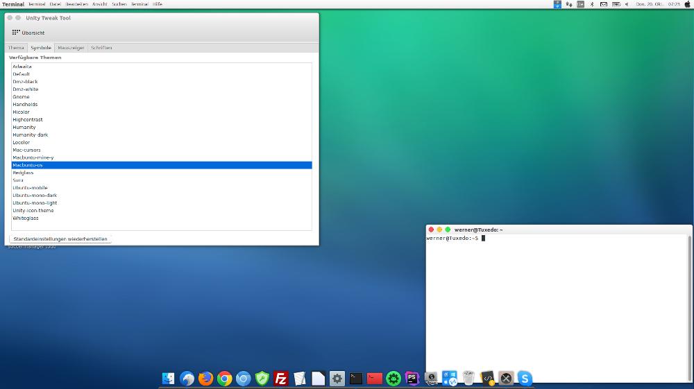 MacOSX Ubuntu