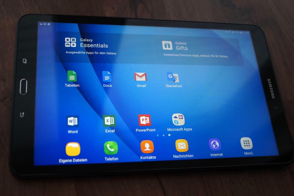 Samsung Galaxy Tab Erfahrungsbericht