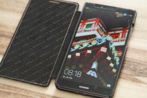Huawei Hülle mit Handy Schutzfolie