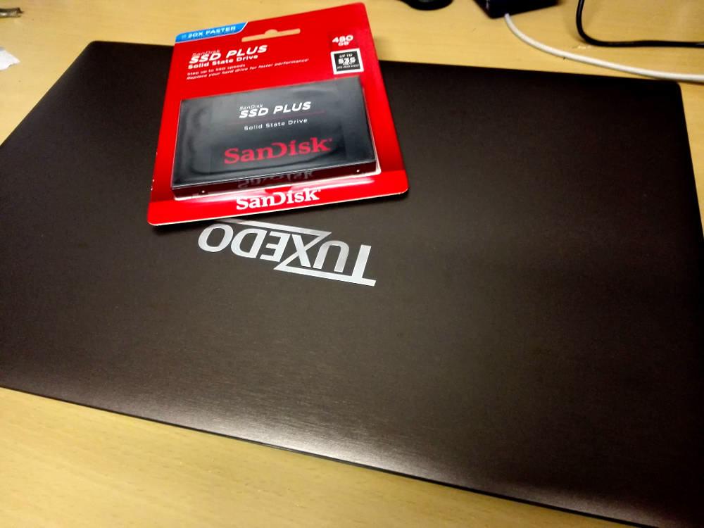 Laptop HD mit SSD tauschen