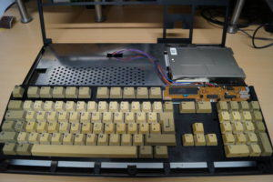 Amiga offen Tastatur