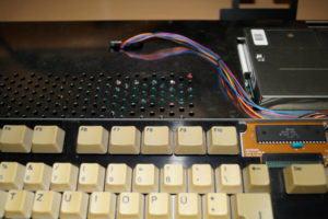 Amiga Tastatur Anschluss