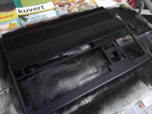 lackierter Amiga 500