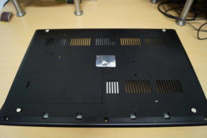 schwarzer Amiga 500 unten