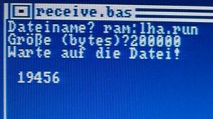 Amiga falsche Dateigroesse