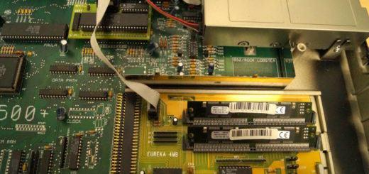 Amiga 500 2,5 mb RAM