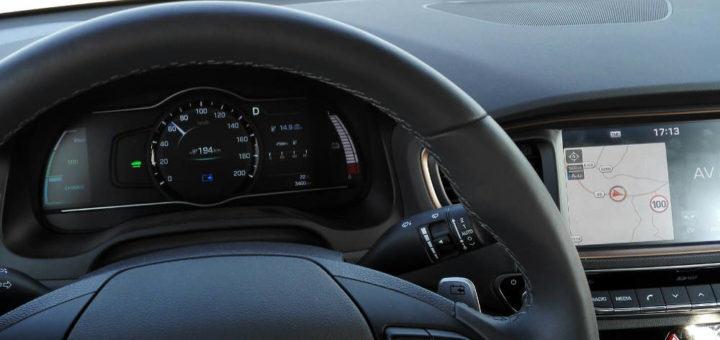Hyundai Ioniq Elektrik Testfahrt