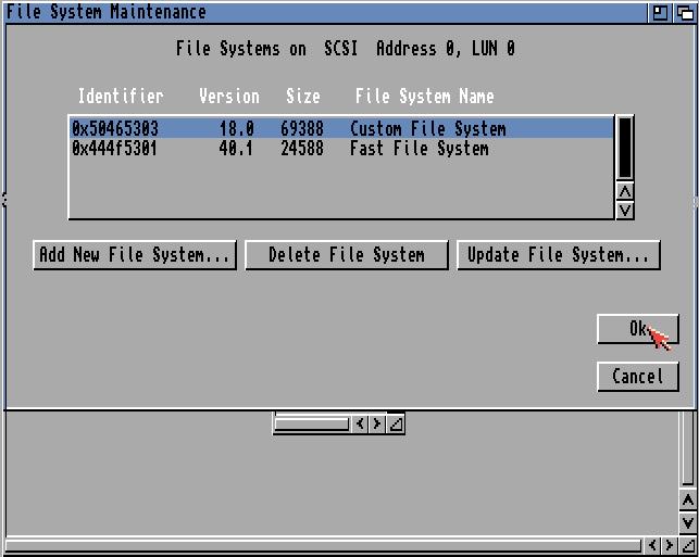 Dateisystem Übersicht