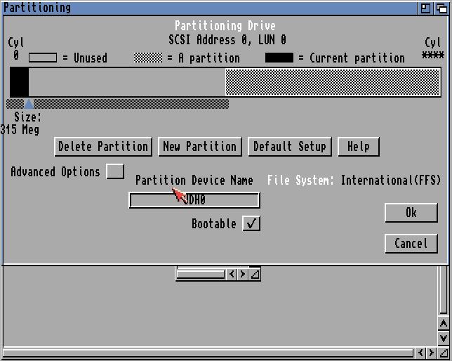 partition drive