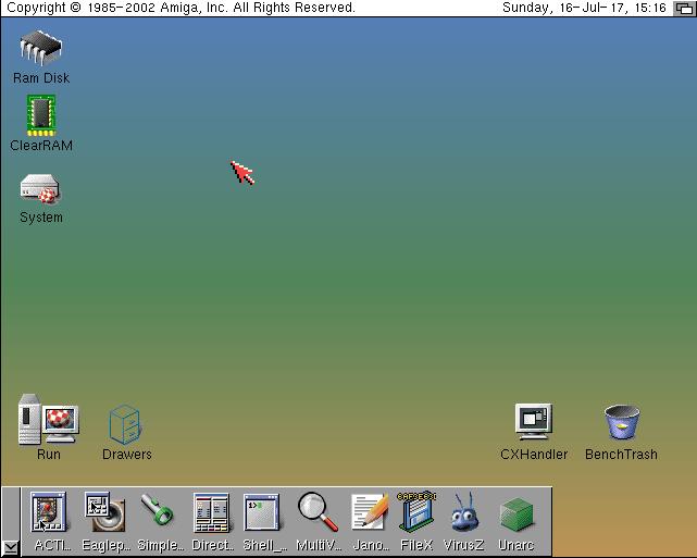 Amiga OS 3.9 Classic WB