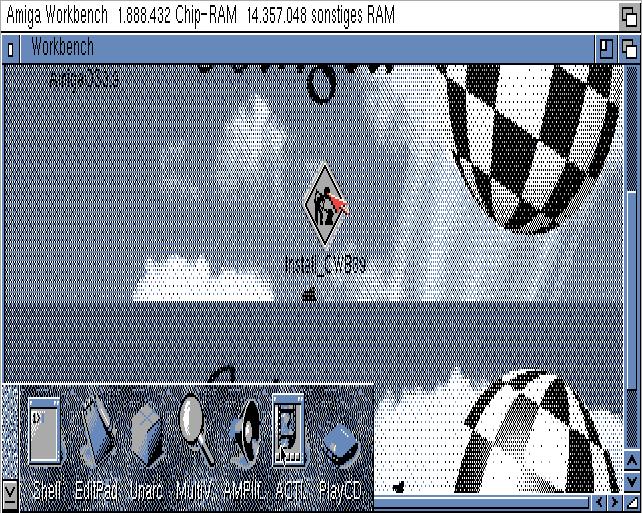 Amiga OS Desktop
