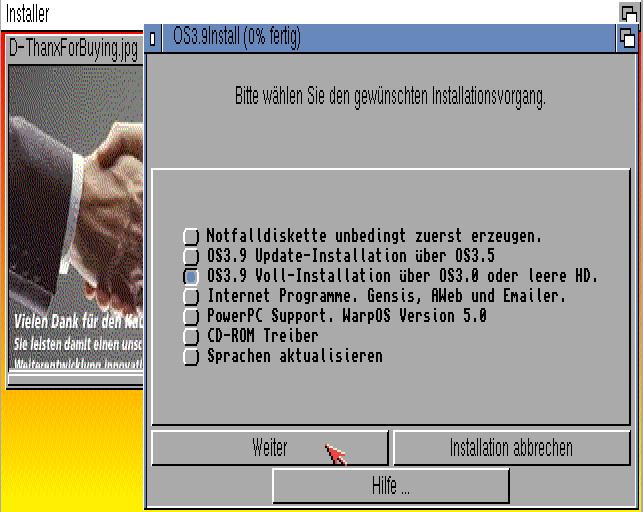 Amiga Voll-Installation
