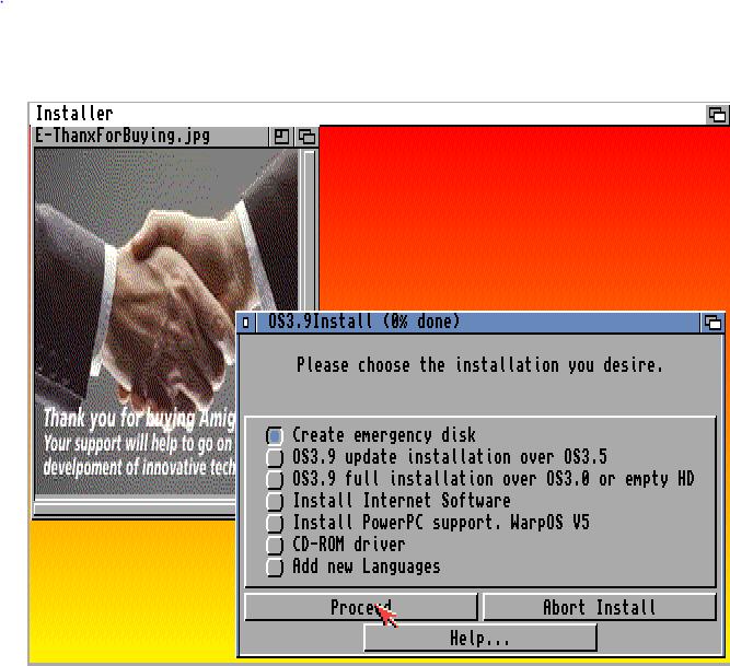 create emergency disk