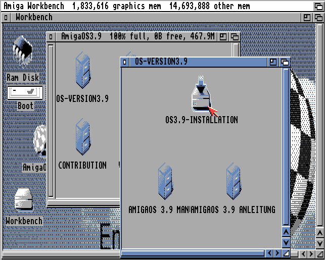OS 39 Installation