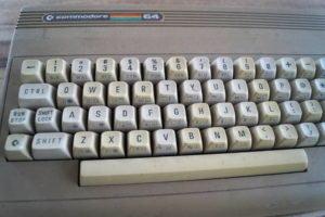 der verdreckte Commodore 64