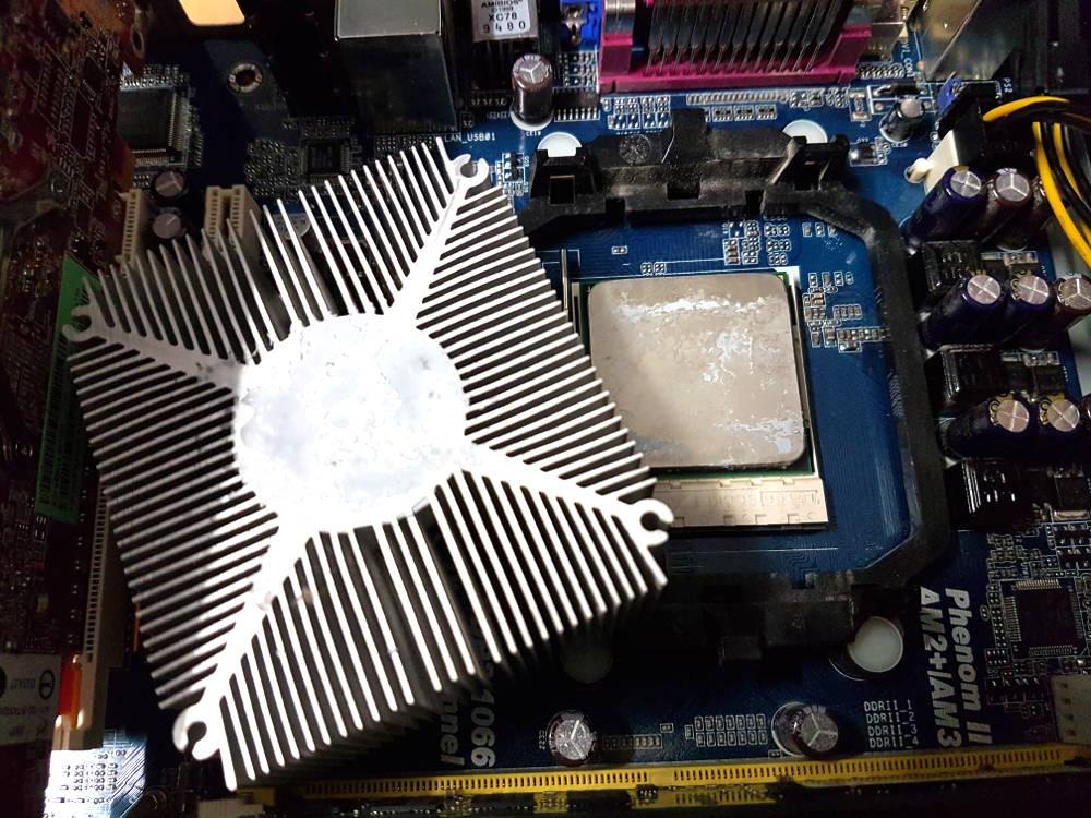alten PC reparieren Wärmeleitpaste
