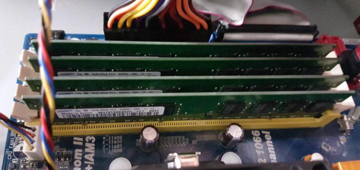 RAM Probleme lösen