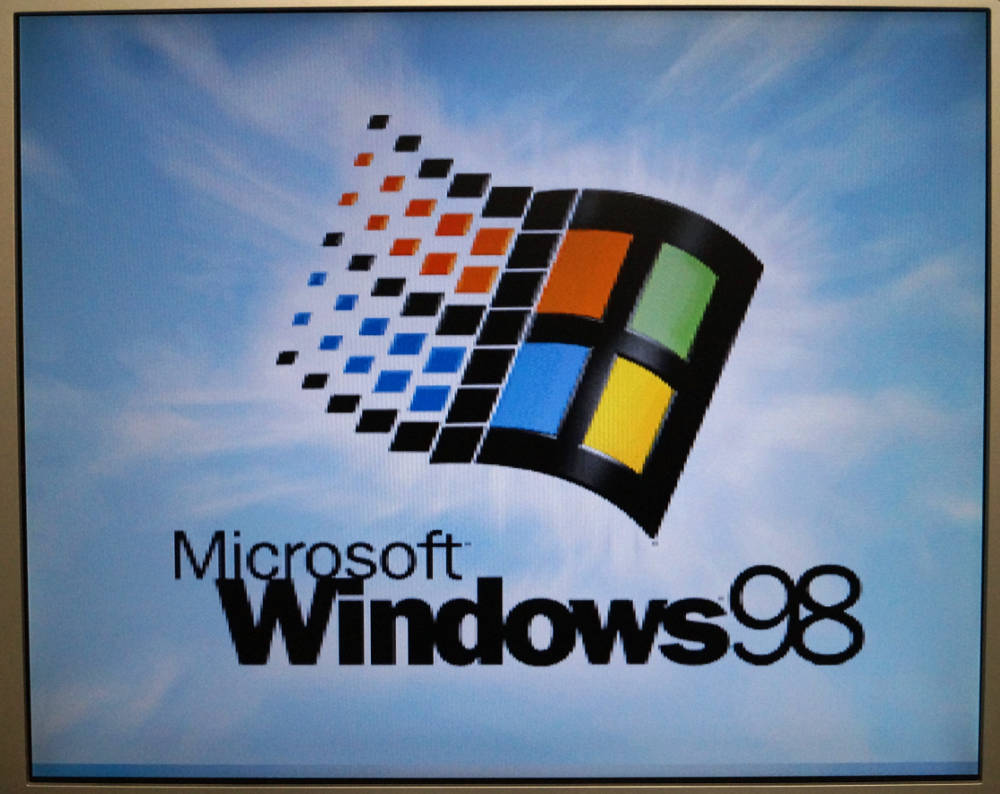 Retro PC Windows 98 Installation