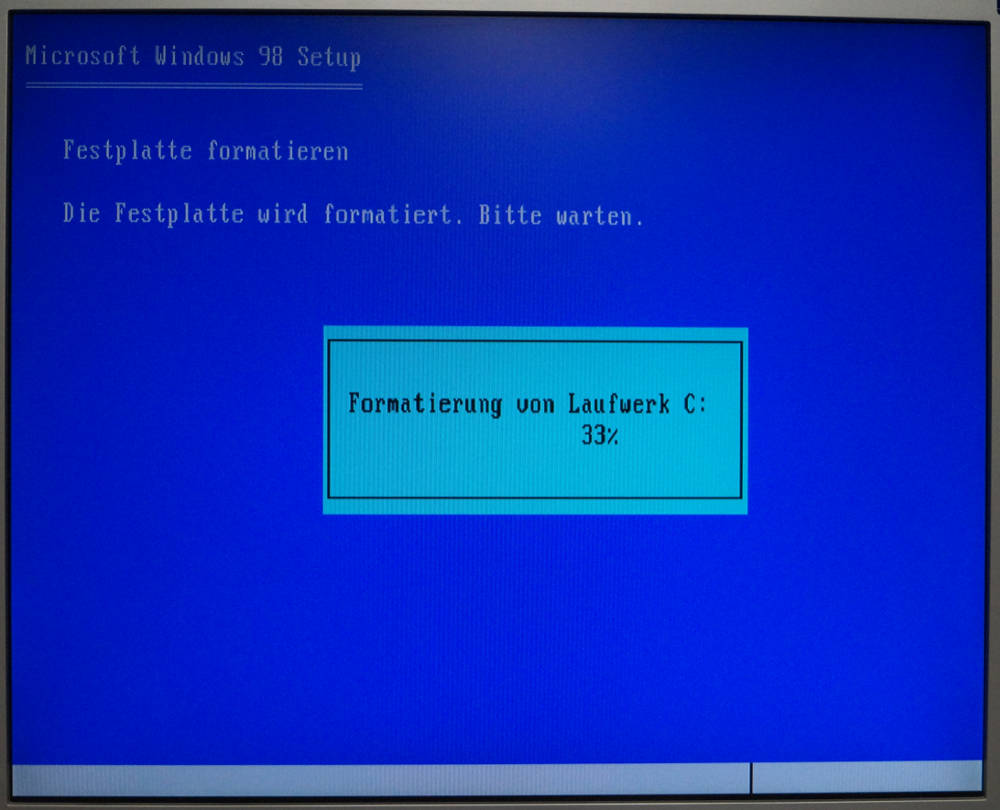 Retro PC Windows Installation
