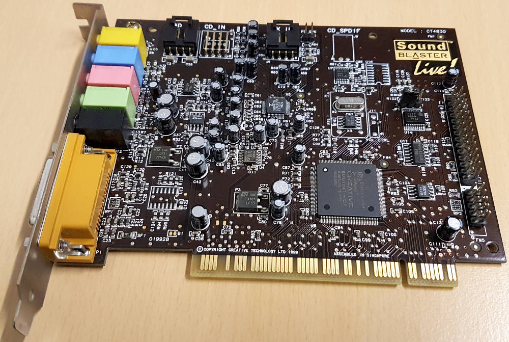 Creative Sound Blaster Live! CT4830