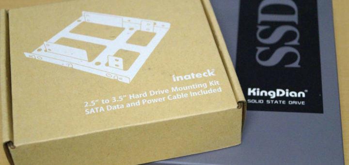 KingDian SSD Einbaurahmen