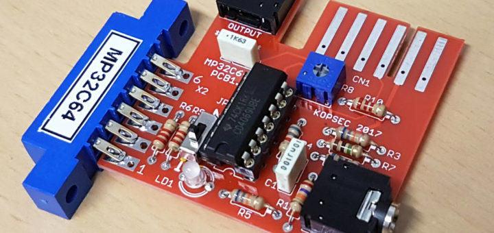 C64 Datasette Emulator mp32c64