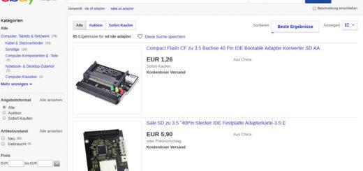 SD IDE Adapter ebay