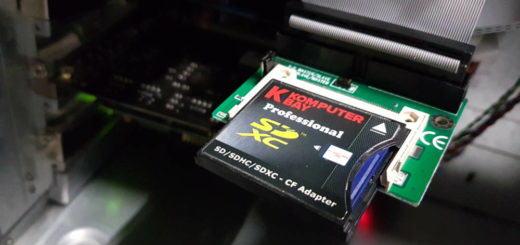 SD Karte statt Festplatte
