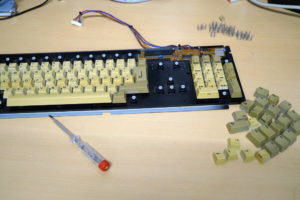 Amiga 500 Tastatur Tasten fehlen