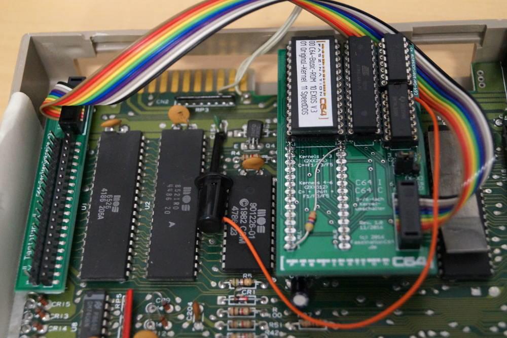 C64 Kernel Umschalter