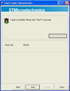 Flash Loader Demonstrator