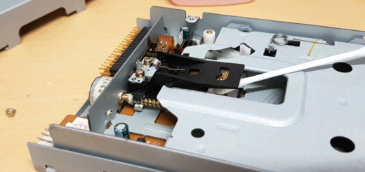Floppy Laufwerk reinigen