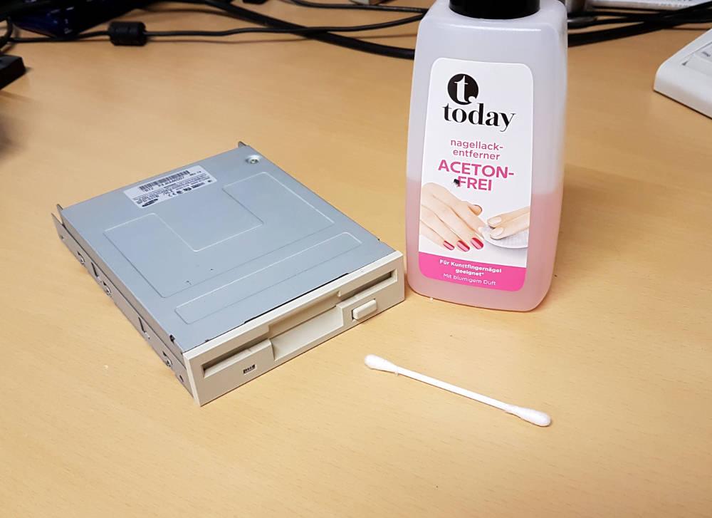 Floppy Laufwerk reparieren