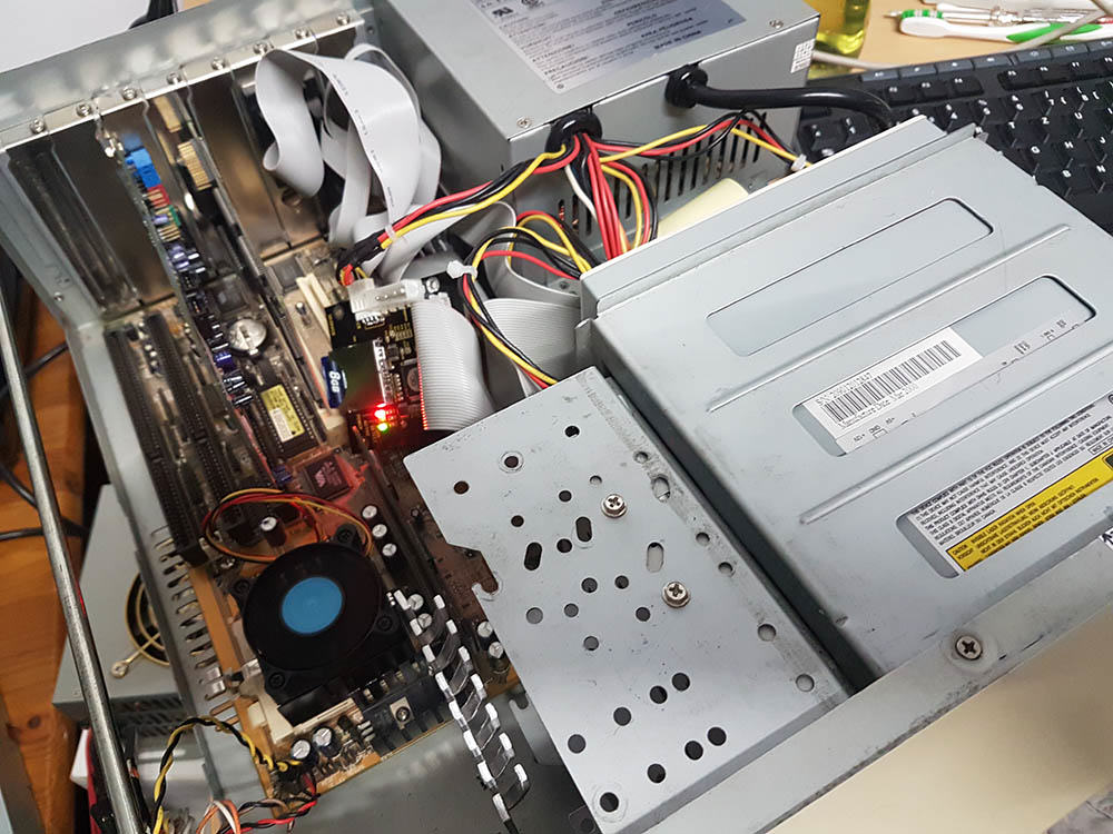 DOS PC mit CD Rom Laufwerk