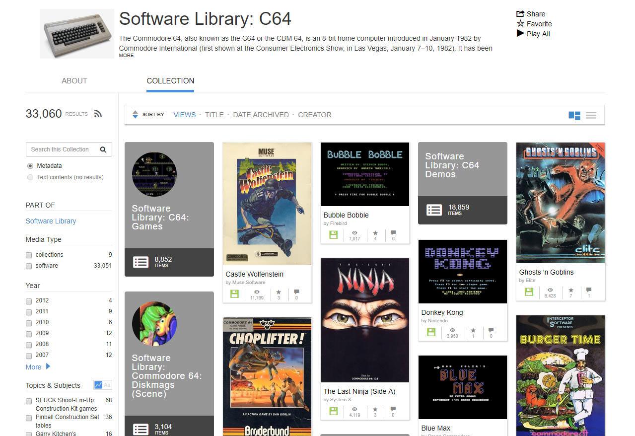 c64 Spiele im Browser spielen