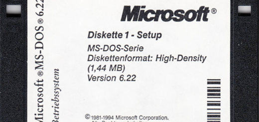 DOS Installation Diskette