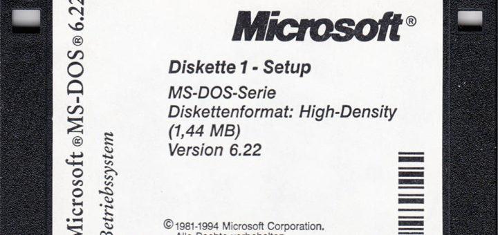 DOS Installation Diskette