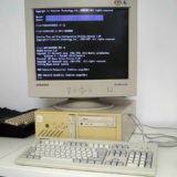 DOS PC Monitor