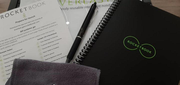 Rocketbook der wiederverwendbare Notizblock