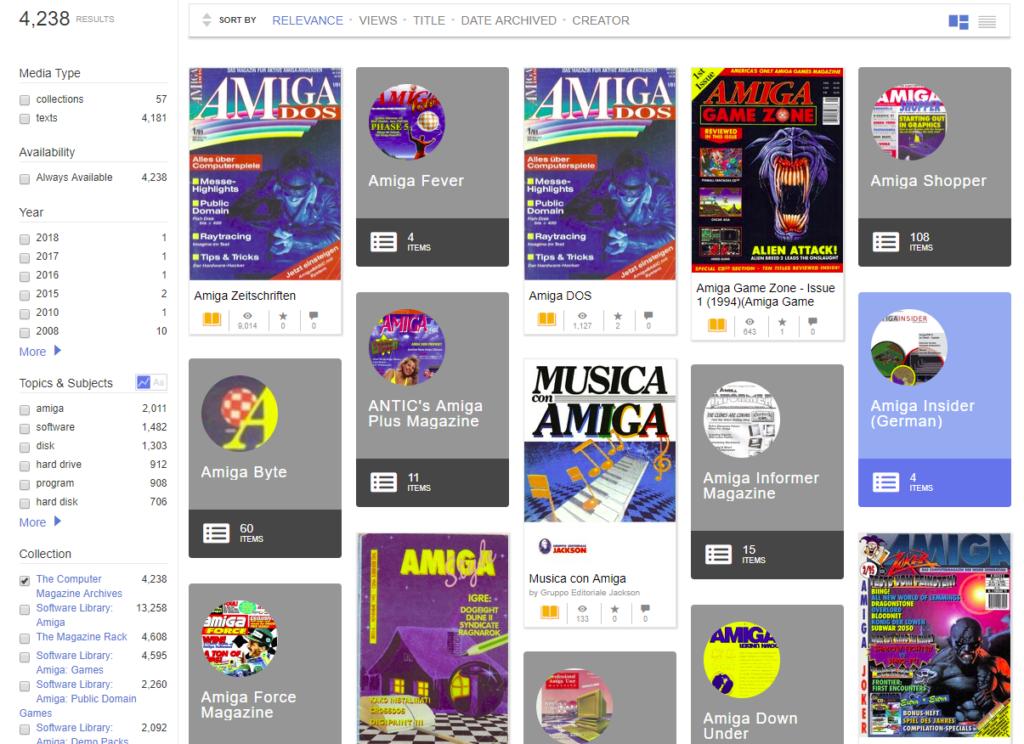 Amiga Zeitschrift als pdf
