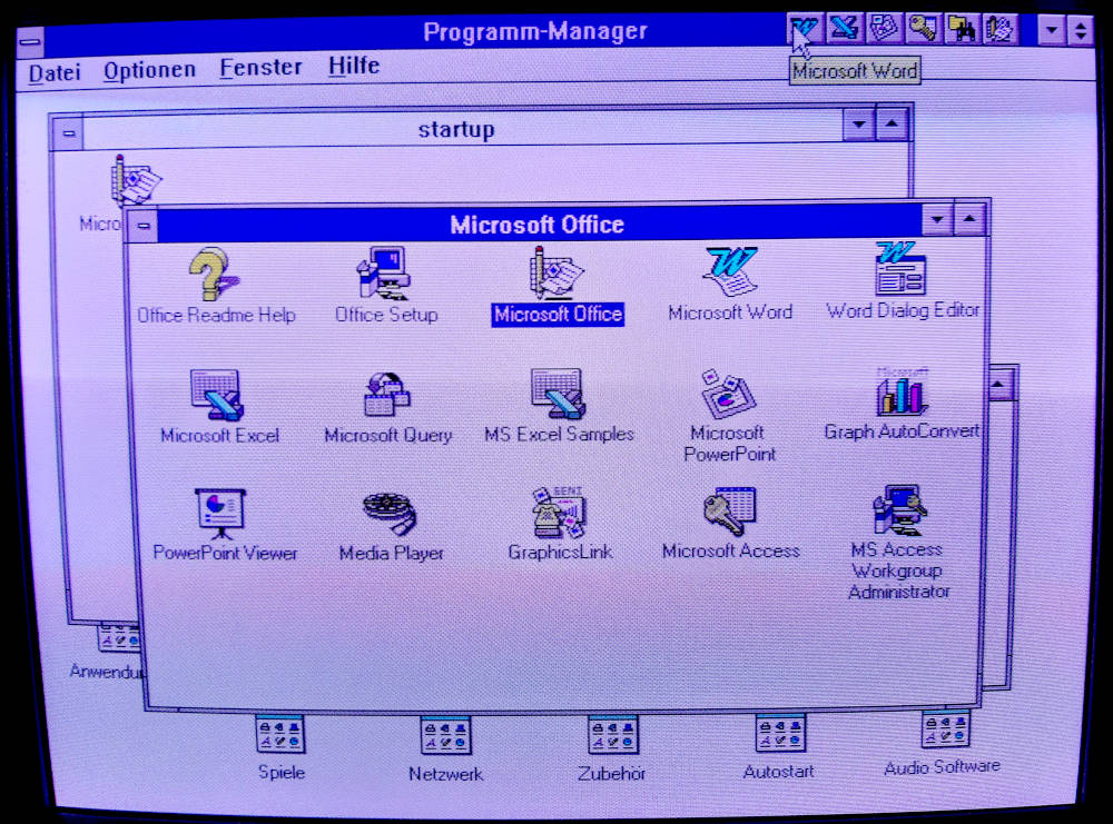 Microsoft Office Programme
