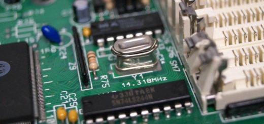 486er Motherboard reparieren