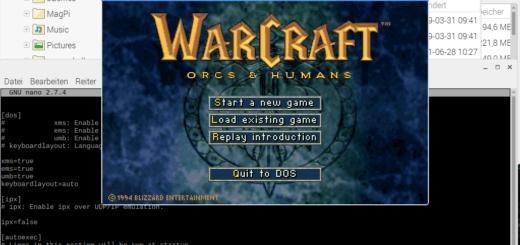 Warcraft auf dem Raspberry Pi