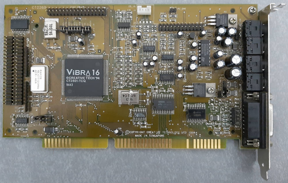 Creative Sound Blaster CT2260