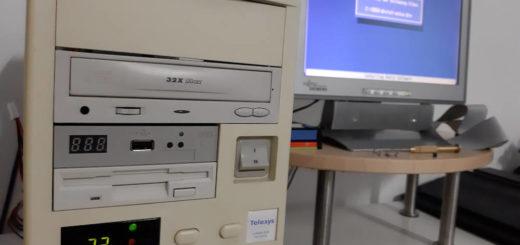 Mein 486 DOS PC