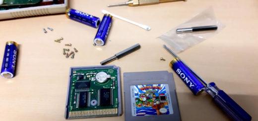 GameBoy Kassette reinigen