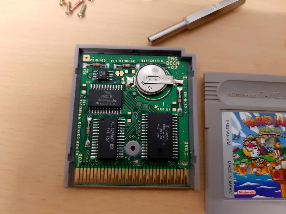 GameBoy Kassette