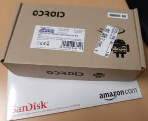 Odroid Go unboxing