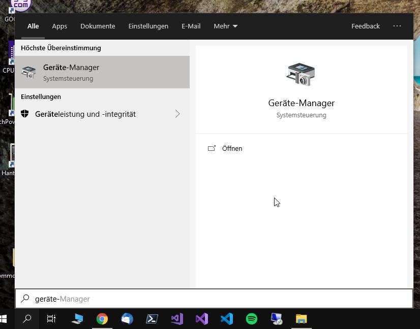 Hantek 6022 Geräte Manager