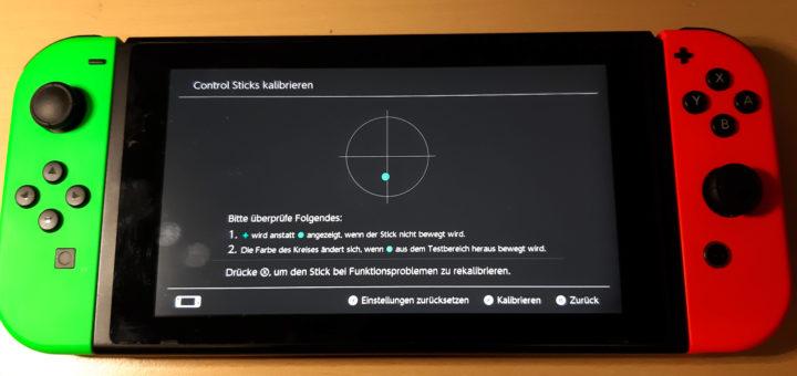 Nintendo Switch Controller reparieren